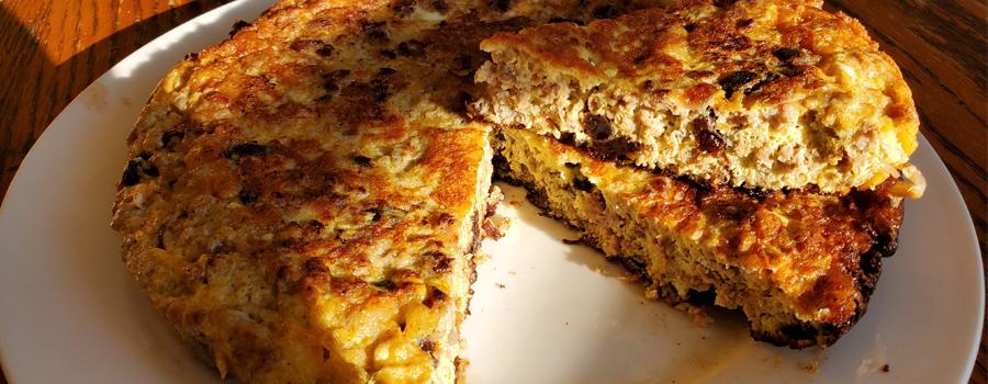 Ground Pork Omelette (Torta)